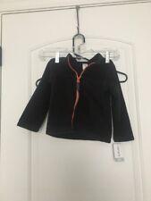 Carter's Baby Infant Boy's Fleece Jacket Sz 24 Months Black Clothes