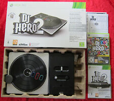 DJ Hero Start the Party + DJ Hero 2 Set Turntable-Bundle, XBox 360 Spiel