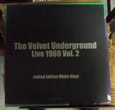 VELVET UNDERGROUND Live 1969 Vol. 2 LP RARE white vinyl reissue Lou Reed