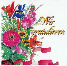 WIR GRATULIEREN / CD - TOP-ZUSTAND