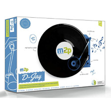 BRAND NEW M2P Make to Play D-Jay Make Your Own Turntable Record Player NIB