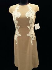 "ANNE KLEIN DRESS/SIZE 14/LINED/RETAIL$149/MACYS DRESS/SMOKE FREE/length 41"""