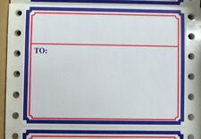 """Patriotic Dot Matrix Printer Shipping Labels, 4"""" x  2 15/16"""", 1,000 per Box"""