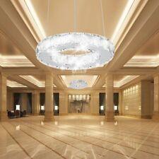 Chandelier light Topmax K9-cut Crystal Led Ring Light Celling Pendant Lamp VP