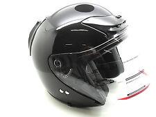 Jethelm Crivit SP-602 Schutzhelm Motorradhelm Helm Medium Mittel Schwarz
