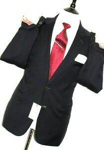 BNWT MENS PAUL SMITH THE MAINLINE TAILOR-MADE NEW EDITION DARK NAVY SUIT 44R W38