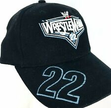 WrestleMania XXII 22 Black Hat Chicago 2006 Baseball Cap Adjustable Back
