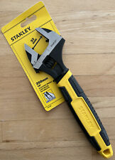Stanley Adjustable Wrench 10in 250mm 33mm Jaw Comfort Improved Model 090949