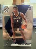 2019-20 Panini Mosaic Zion Williamson Rookie Base #209 New Orleans Pelicans RC 5