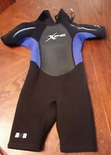 New listing XPS Spring Shorty WETSUIT Youth Small Zipper 2x2 mm Aqualite Neoprene