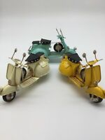 Vespa motorcycle vintage Tin Plate Giftware Cars Planes Retro Mens Gifts New