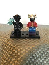 Custom DC Lego Minifigures Zoom Black Flash And Original Flash, Jay Garrick, New