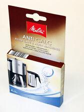 Melitta Anti Calc Descaler for Kettles/Coffee Machines, 4 X 12g, MEL6545475