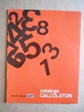 CATALOGO Calcolatori GBC Italiana anni 70   [GS50]