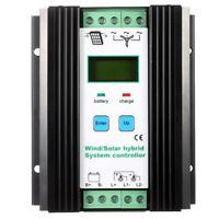 Wind&Solar Hybrid Pwm Controller (600W Wind 400W Solar) 12V / 24V Automatis Z4M4