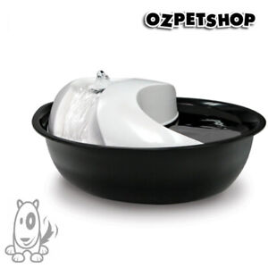 Pioneer Raindrop Plastic Pet Dog or Cat Drinking Fountain 1.7 litre