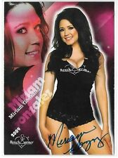 Miriam Gonzalez IN PERSON signed 2009 Benchwarmer trading card #8