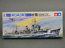 Tamiya 1/700 Japanese Navy Destroyer  FUBUKI  Water Line Model Ship Kit #d3
