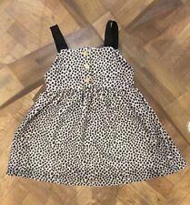Girls Zara Pinafore Style Dress Age 3-4 Years