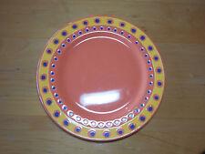 "Waechtersbach Spain HIP HOP Orange Mango Set of 2 Salad Plates 9 1/8"""