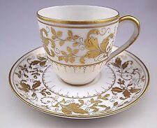 Vintage Limoges Porlcelain Le Tallec Bonwit Teller Gold Cup and Saucer