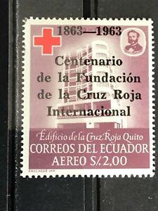 Ecuador stamp 1963 Red Cross centenary MNH