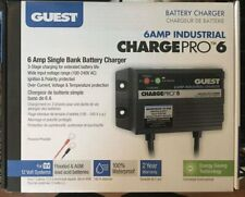 Boat Marine On-Board Battery Charger - 12V - 1 Bank Guest 6A