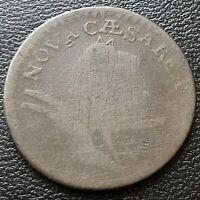 No Date New Jersey Colonial Copper Token ~ Nova Caesarea Rare #20109