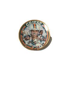 Sports Impressions Bob Griese Mini Plate