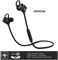 NEW Mpow Wolverine Bluetooth4.1 Wireless Stereo Headset F/S for iPhone Samsung