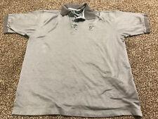 Men's Hugo Boss Golf Polo Short Sleeve Shirt Gray Size Large