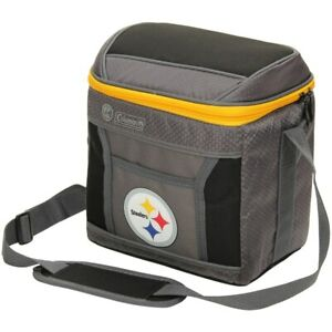 Pittsburgh Steelers Coleman 9-Can 24-Hour Soft-Sided Cooler..Originally $29.99