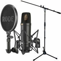 Rode NT1-KIT Kondensator-Mikrofon Set + keepdrum Mikrofonständer