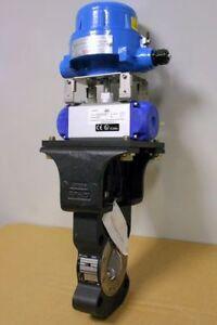 REVO Turn Actuator RD300 + Crane Butterfly Valve DN65 + Soldo Endschalterbox