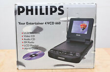 Philips 4VCD 660/93 LCD Multimediagerät, TV, VCD, Radio,NEU, OVP!