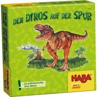 Le Dinosaures de Traces Version Voyage Geschenkzwerge haba 7591 à partir 5 J.