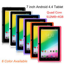 7'' INCH Quad Core HD Tablet For Kids Child Android 4.4 Dual Camera WiFi