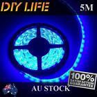 Waterproof 12V Blue 5M 3528 SMD 300 Leds LED Strips Led Strip Lights Led Lights