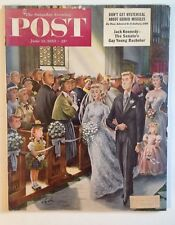 Saturday Evening Post Magazine - June 13, 1953:  John (Jack) F. Kennedy