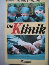 """Buch """"Die Klinik"""" von Noah Gordon"""