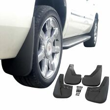 Fits Tahoe LTZ 09-14 Mud Guards Splash w/o Flares 4 Piece Front & Rear