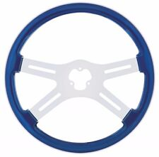 "18"" STEERING WHEEL ( BLUE) PETERBILT  KENWORTH  FREIGHTLINER INTERNATIONAL"