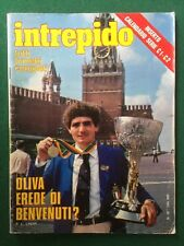 Rivista INTREPIDO n.39/1980 (ITA) PATRIZIO OLIVA FELICIANA CRISTINA MOFFA
