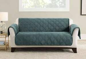 Triple Protection Sofa Furniture Cover  TEAL