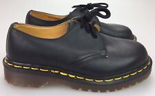 NEW Dr Martens Black Leather 3 Eye Low Shoe England UK 3 (US Womens 5) 1461 Doc