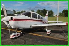1976 Piper Warrior Single Propeller N4954F Fixed Wing Single-Engine Airplane