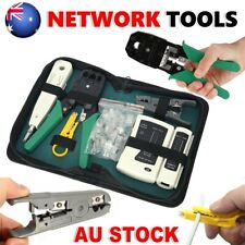 CAT5/6 RJ45 Network Tool Cable Tester Cutter Stripper Crimper LAN Punch Down Kit