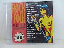 CD Sampler Rock & Folk 11 POSIES AS DRAGON BRIAN ENO STUPEFLIP LA PHAZE CASTANET