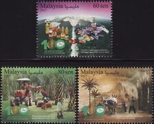 Malaysia 2017 100 Years of Palm Oil Industry (3v) ~ Mint