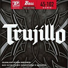 Dunlop Icon 'TruJillo' Stainless Steel 4-string Bass strings 45-102T, RTT45102T